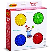 Edushape Sensory Ball 4 in – 4のセット EDS705174