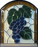 ステンドガラス窓ドア壁材料三層デザインパネルハンドメイド手作り高級ステンドグラスsge03 IHOME gr03-s