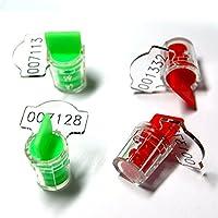 Zhengcheng ( R )高Electricセキュリティユーティリティツイストプラスチックメーターシールwithステンレススチールワイヤ( Pack of 200)