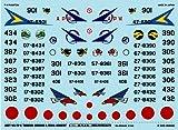A-289 デカール 1/144 F-4EJ/RF-4E/EJ「部隊インシグニア&シリアル」