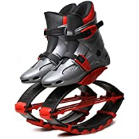 Jumping Shoes Sports Kangaroo Boots Fitness Bouncing Shoes Kids Children Exercise Training Toys,30/32