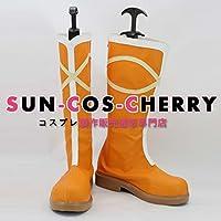 【サイズ選択可】コスプレ靴 ブーツ K-1695 ラブライブ! Love Live! SUNNY DAY SONG 園田海未 そのだうみ 男性26.5CM