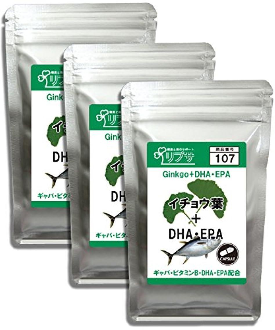 病気里親博物館イチョウ葉&DHA?EPA 約1か月分×3袋 C-107-3