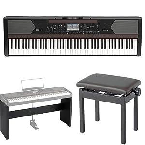 KORG 電子ピアノ DIGITAL ENSEMBLE PIANO HAVIAN 30 専用スタンド&椅子セット