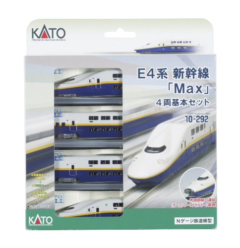 KATO Nゲージ E4系 新幹線 Max 基本 4両 10-292 鉄道模型 電車