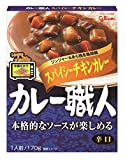 江崎グリコ カレー職人スパイシーチキンカレー辛口170g×10個