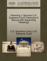 Helvering V. Sprouse U.S. Supreme Court Transcript of Record with Supporting Pleadings
