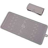 水切りマット ドレイニングマット キッチン 食器 シリコン 450 * 200mm