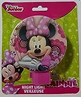 Disney Junior Minnie Night Light (Pink) [並行輸入品]