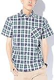 グリーンマドラスチェック M JACK PORT(ジャックポート) チェック ブロードシャツ メンズ 半袖 シャツ ブランド チェックシャツ チェック柄シャツ カジュアルシャツ オックスフォードシャツ ウエスタンシャツ ネルシャツ 半そで スリム S M L XL LL JKP20779005306