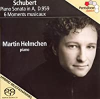 Schubert: Piano Sonata in A,D.959 / 6 Moments Musicaux (2008-08-26)