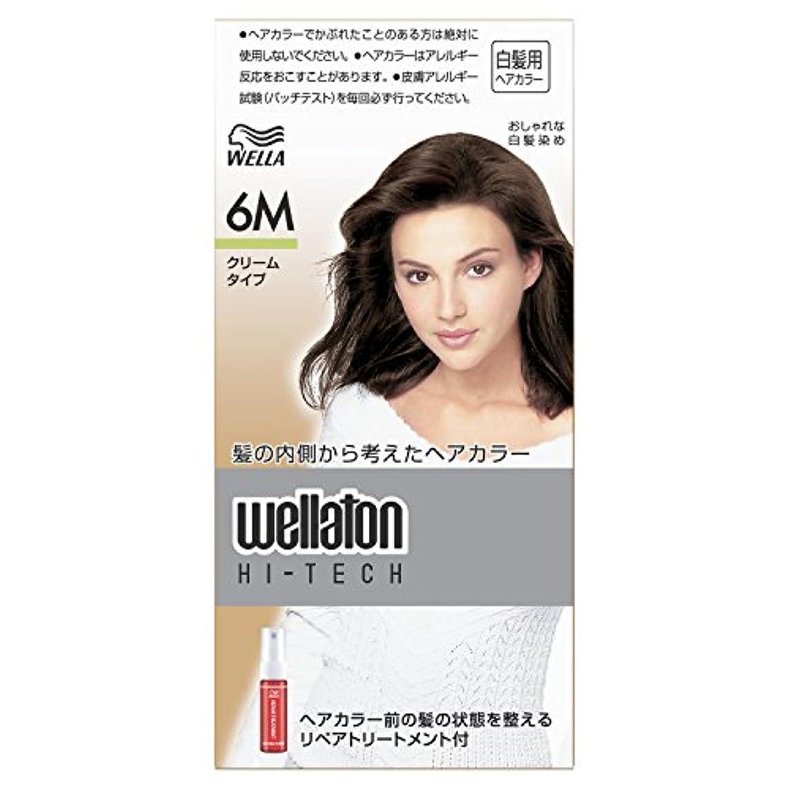 整理するウィスキーくすぐったいウエラトーン ハイテック クリーム 6M [医薬部外品](おしゃれな白髪染め)