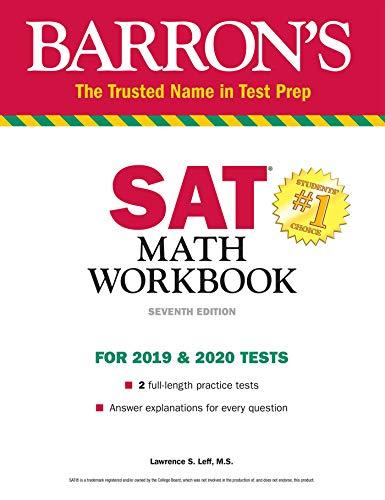 Download Barron's SAT Math Workbook (Barron's Test Prep) 1438011768