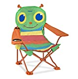 (Personalized Version) - Melissa & Doug Personalised Sunny Patch Happy Giddy Outdoor Folding Lawn and Camping Chair