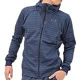 (オークリー) OAKLEY メンズ ジップアップ パーカー Enhance Tenhnical Fleece Jacket-Grid 7 461542JP Navy-Blue L