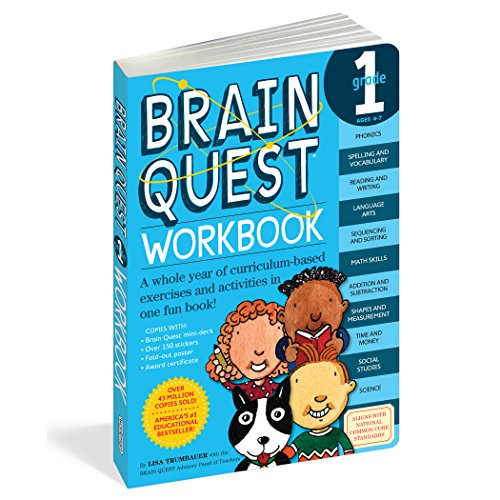 Brain Quest Workbook Grade 1の詳細を見る