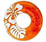 INTEX(インテックス) クリアカラーチューブ 91cm オレンジ 59251 [日本正規品]