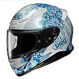 ショウエイ(SHOEI) バイクヘルメット フルフェイス Z-7 HARMONIC TC-2(BLUE/WHITE) XL (頭囲 61~62cm) Z-7