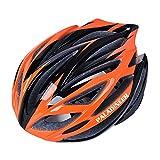 パラディニア(Paladineer)超軽量 サイクリングヘルメット 高剛性 21穴通気 アジャスター サイズ調整可能 7色 自転車用 オレンジ