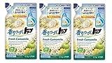 【まとめ買い】香りつづくトップ 洗濯洗剤 液体 フレッシュカモミール 詰め替え 810g×3個パック