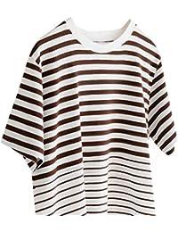 (コーエン) COEN グラデーションボーダークルーネックTシャツ 75256008060