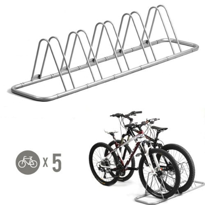 5 Bike Bicycle Floor Parking Rack Storage Stand by CyclingDeal [並行輸入品]