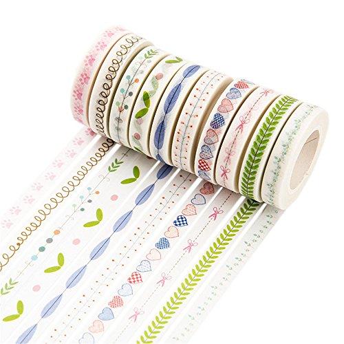 Kamizuki 和紙テープ マスキングテープ 和紙小巻ロー...