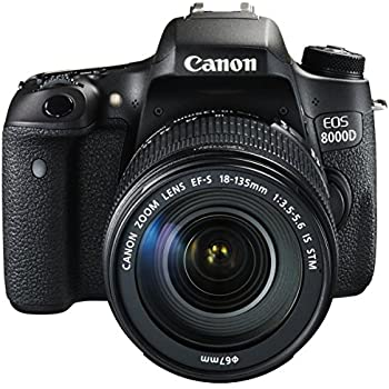 Canon デジタル一眼レフカメラ EOS 8000D レンズキット EF-S18-135mm F3.5-5.6 IS STM 付属 EOS8000D18135ISSTMLK