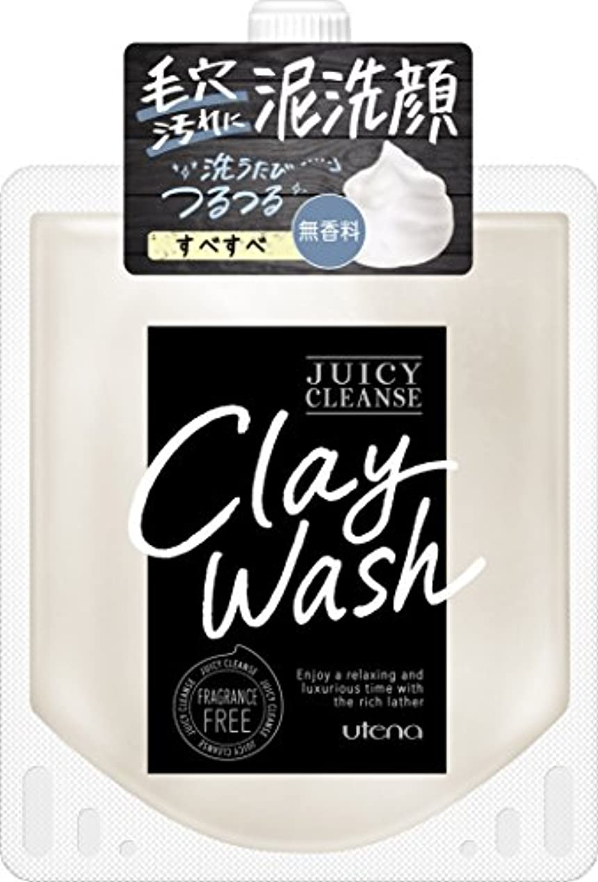 誓約暖かく被るJUICY CLEANSE(ジューシィクレンズ) クレイウォッシュ 無香料 110g