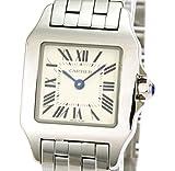 腕時計 サントスドゥモアゼル ホワイト W25064Z5 レディース カルティエ画像③