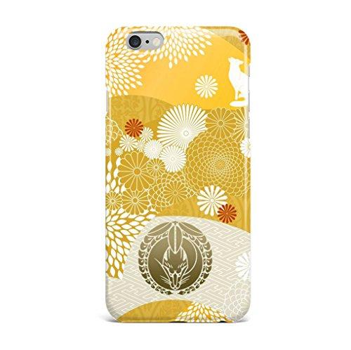 iPhone5s SE 6 6s plus 7 plus 刀剣 ケース おしゃれ ハート型 高品質 人気 刀紋 保護カバー (iphone 7, 狐)