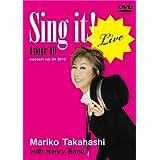 LIVE Sing it! [DVD]