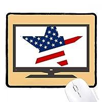 アメリカ  スターフラグ米国パターン マウスパッド・ノンスリップゴムパッドのゲーム事務所