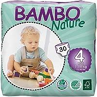 [国内正規品] BAMBO Nature プレミアム ベビー 紙おむつ MAXI 4号 (7-18kg)30枚入り (MAXI 4号 (7-18kg))