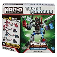 KRE-O (クレオ) Transformers (トランスフォーマー) Micro-Changers Combiners Defensor Construction Set (A4474) ブロック おもちゃ (並行輸入)
