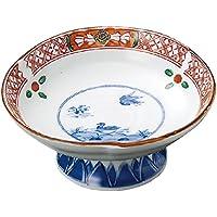 山下工芸(Yamasita craft) 強化万歴高台刺身鉢 15×15×6.5cm 11017190