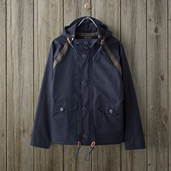 Nigel Cabourn Taped Ventile Aircraft Jacket: Navy
