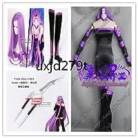 「ノーブランド品」Fate/Grand Order(フェイトグランドオーダー・FGO・Fate go) メドゥーサ Rider 第一階段☆コスプレ衣装+ウィッグ+靴+道具