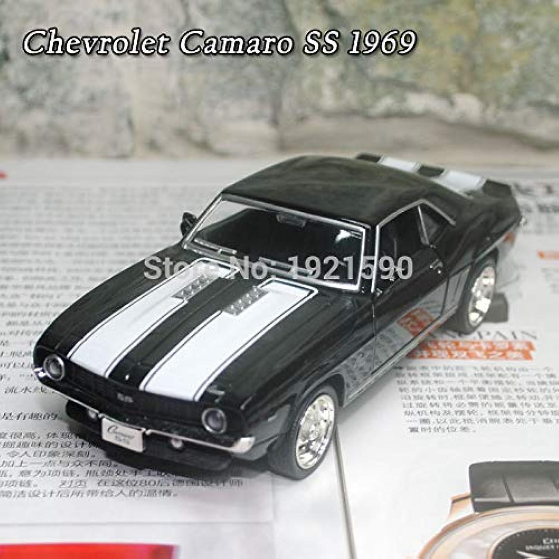 RMZ City 1/36 スケール車のおもちゃ1969シボレーカマロ SS ダイキャスト金属プルバック車モデル玩具コレクション?ギフト?子供