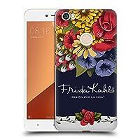 Official Frida Kahlo ブルーム レッド・フローラル ハードバックケース Xiaomi Redmi Y1 / Y1 Lite