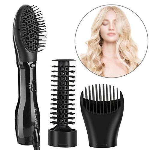 Comb Hair 3で1マッサージ櫛髪多機能カーリーヘア/...