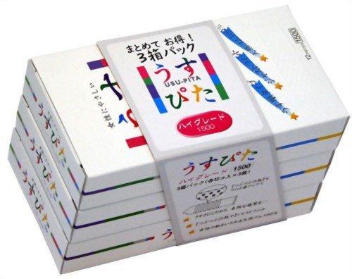 コンドーム/ジャパンメディカル うすぴた ハイグレード(3箱パック(各12コ入*3箱))