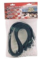 Erickson 06604 長さ31インチ 工業用 EPDM ゴム製タープストラップ (4個パック)