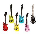 CCINEE ギターバルーン パーティー 二次会 おもちゃ 6個セット