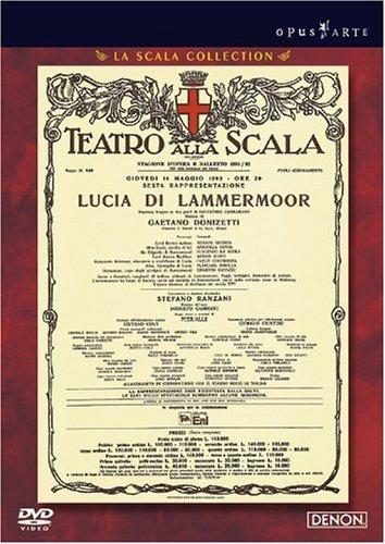 ドニゼッティ作曲 歌劇《ランメルモールのルチア》 ミラノ・スカラ座 1992 [DVD]