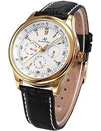 Ks アビエイター ラグジュアリー 自動機械式 日付 曜日 表示 エレガント メンズ 腕時計KS094