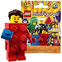 レゴ(LEGO) ミニフィギュアシリーズ 18 レゴブロックマン【未開封】  LEGO Collectable Minifigures Series 18 Brick Suit Guy 【71021-2】
