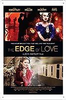 映画の金属看板 ティンサイン ポスター / Tin Sign Metal Poster of Movie The Edge of Love #2