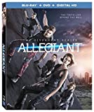 The Divergent Series: Allegiant [Blu-ray + DVD + Digital HD]