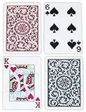 Copag Bridgeサイズレギュラーインデックス1546Playing Cards (RedブルーSetup)